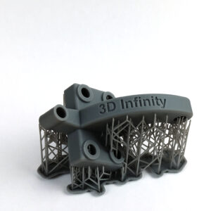 Grey Resin 3D Print