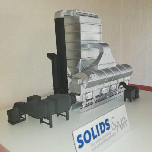 3D print miniatuur voor machinebouw